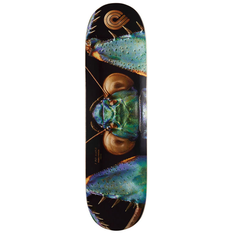Powell Peralta Levon Biss Iridescent Bark Mantis Skateboard Deck Shape 245 8.75