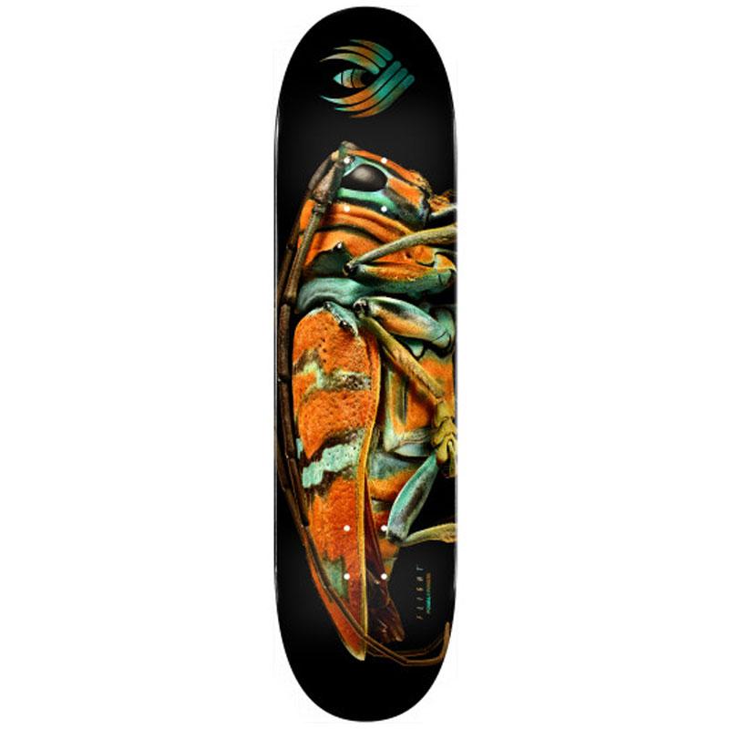 Powell Peralta Levon Biss Jewel Longhorn Beetle Flight Skateboard Deck Shape 246 9.0