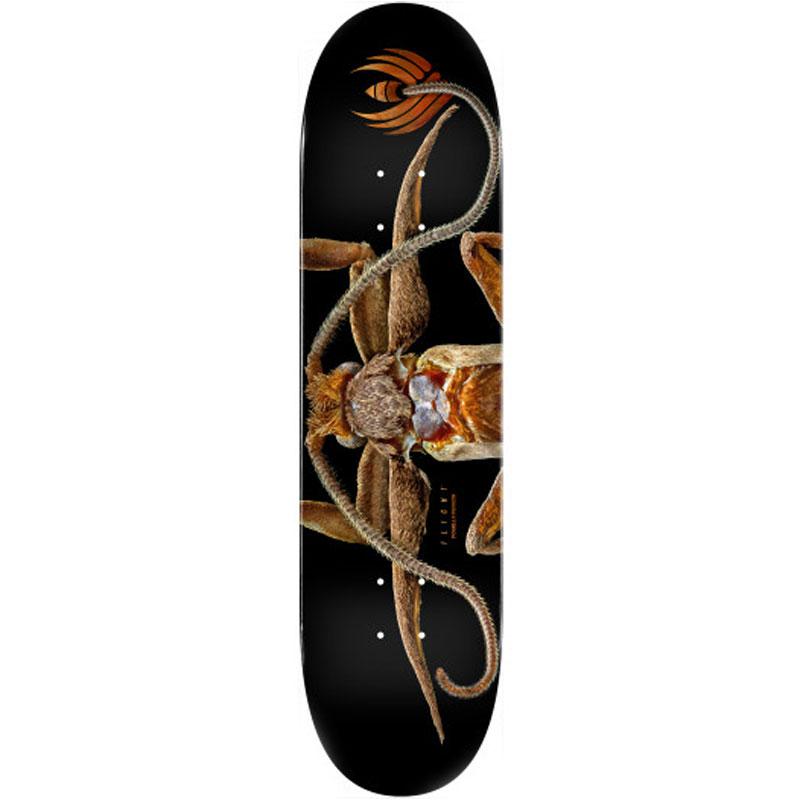 Powell Peralta Levon Biss Marion Flightless Moth Flight Skateboard Deck Shape 243 8.25