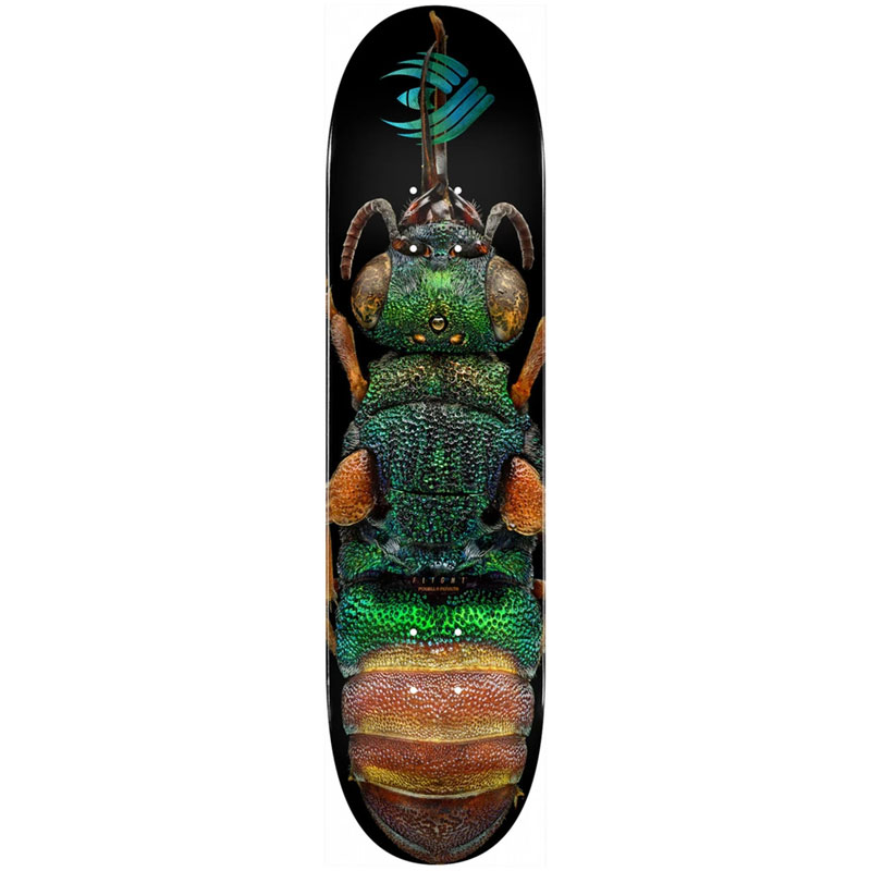 Powell Peralta Levon Biss Ruby Tailed Wasp Flight Skateboard Deck Shape 244 8.5