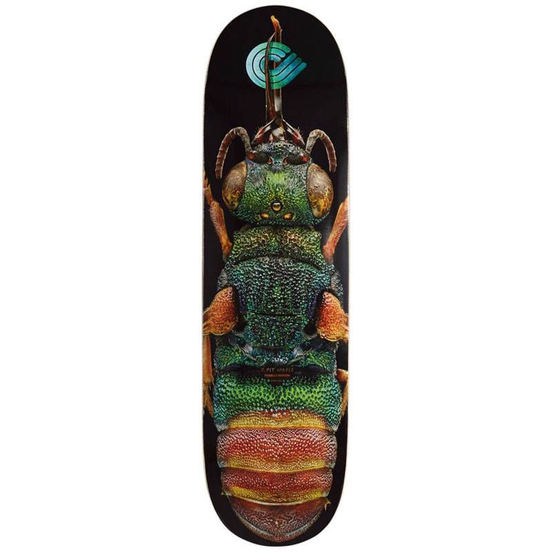 Powell Peralta Levon Biss Ruby Tailed Wasp Skateboard Deck Shape 244 8.5