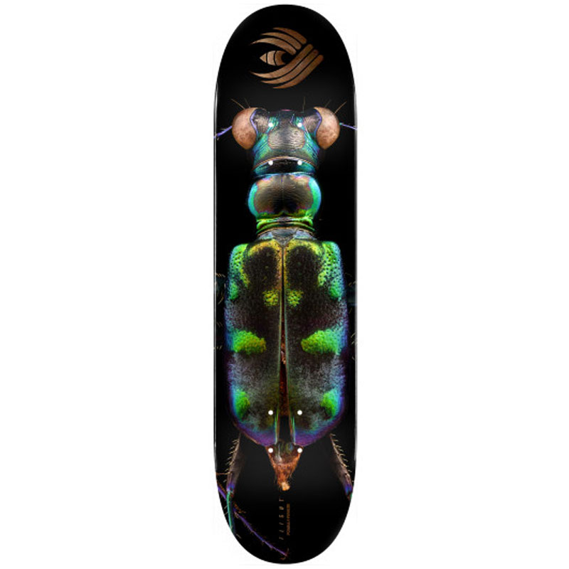 Powell Peralta Levon Biss Tiger Beetle Flight Skateboard Deck Shape 248 8.25