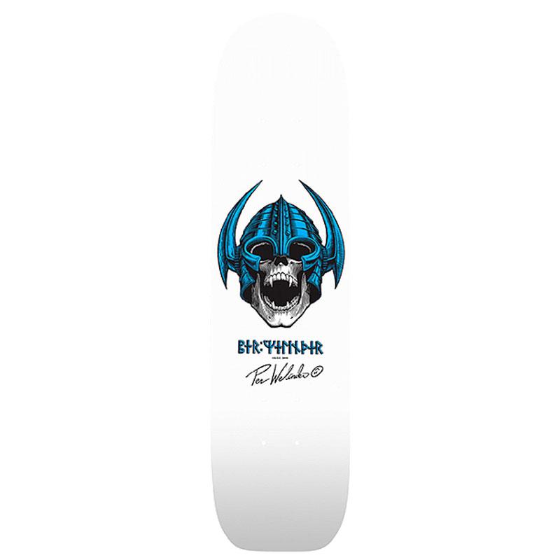 Powell Peralta OG Per Welinder Freestyle Skateboard Deck Shape 286 White 7.25