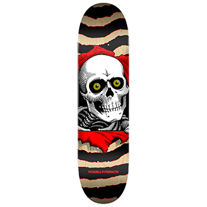 Powell Peralta Ripper Skateboard Deck Gold/Black 8.0