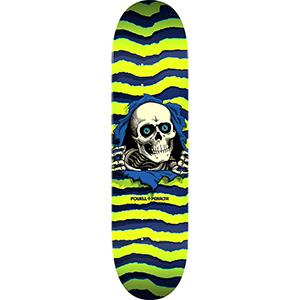 Powell Peralta Ripper Skateboard Deck Lime 8.0