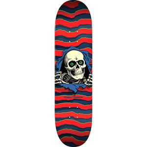 Powell Peralta Ripper Skateboard Deck Red 8.25