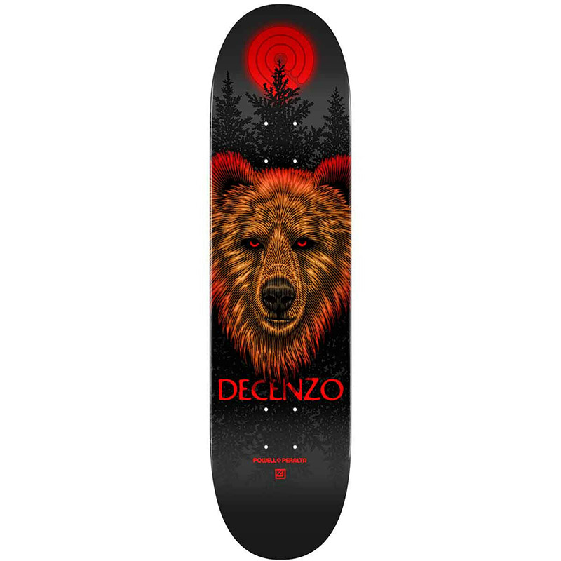 Powell Peralta Scott Decenzo Bear 2 Skateboard Deck Shape 247 8.0