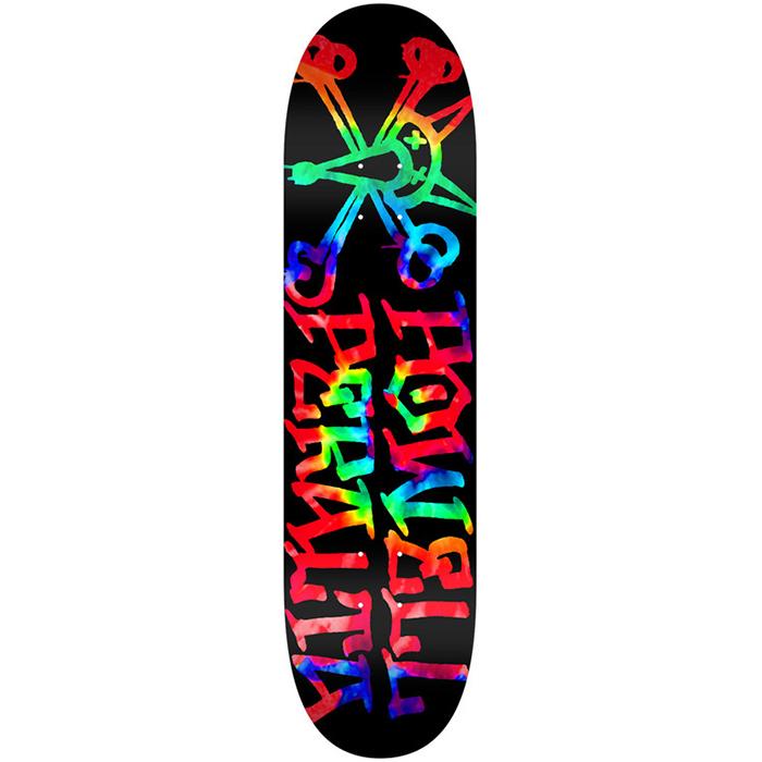 Powell Peralta Vato Rat Tie Dye Skateboard Deck 7.0