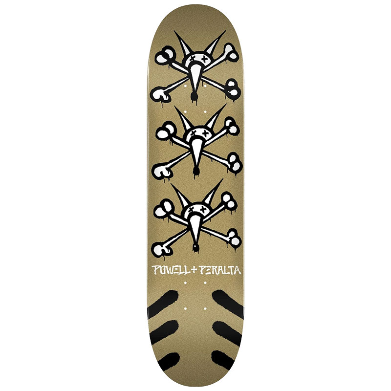 Powell Peralta Vato Rats Gold Complete Skateboard Shape 242 8.0