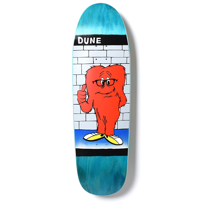 Prime Dune Gossamer Shaped Skateboard Deck 9.38