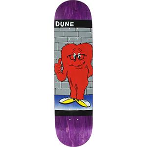 Prime Dune Gossamer Assorted Colours Skateboard Deck 8.25