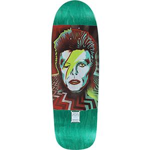 Prime Heritage Jason Adams Bowie on Original Lee Old-School shape Skateboard Deck 9.5