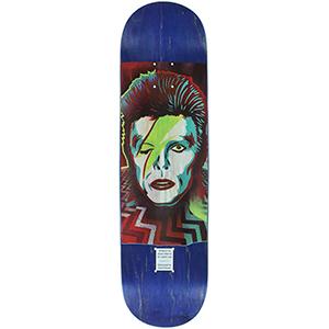 Prime Heritage Jason Adams Bowie Popsicle Shape Skateboard Deck 8.25