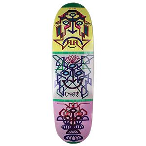 Prime Ron Chatman Arrow Nose Art 1 UFO Shape Skateboard Deck  8.87