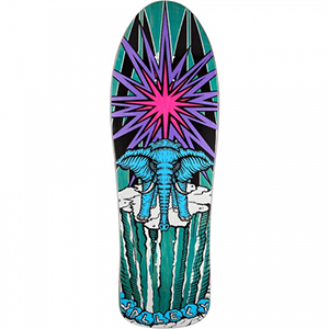 Prime World Industries Mike Vallely Elepant On The Edge Old School Skateboard Deck Assorted Colors 9.75