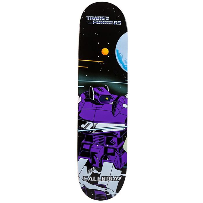 Primitive Calloway Shockwave Skateboard Deck 8.0