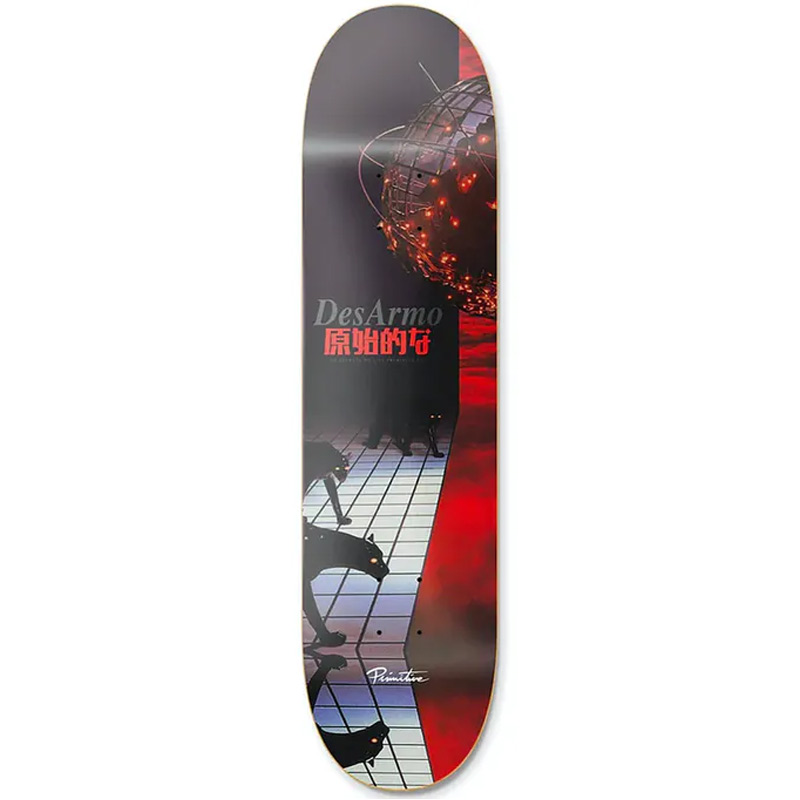 Primitive Desarmo Night Of The Jaguar Skateboard Deck 8.5