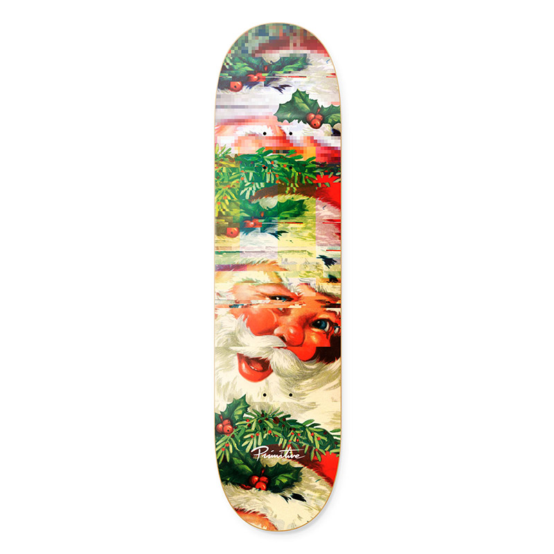Primitive Holiday Skateboard Deck Multi 8.125