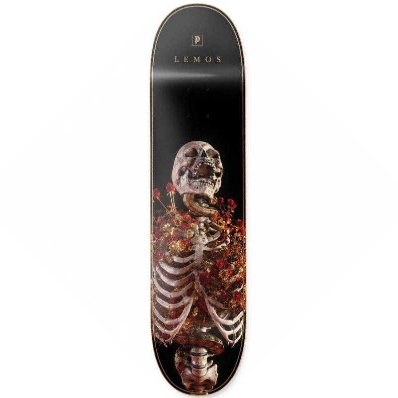Primitive Lemos Rise Skateboard Deck Gold 8.125