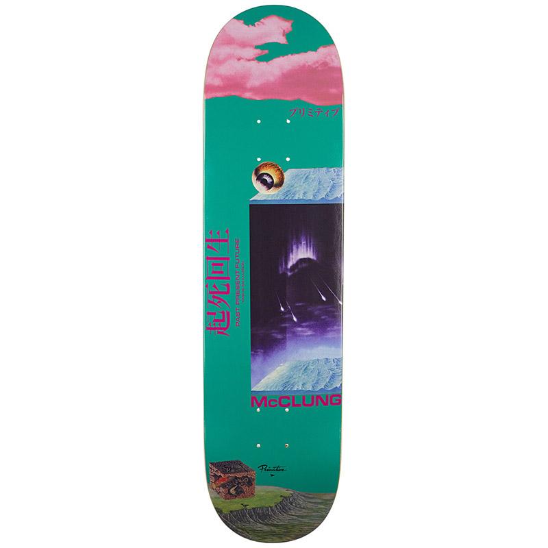 Primitive Mcclung Illusion Deck Skateboard Deck 8.0