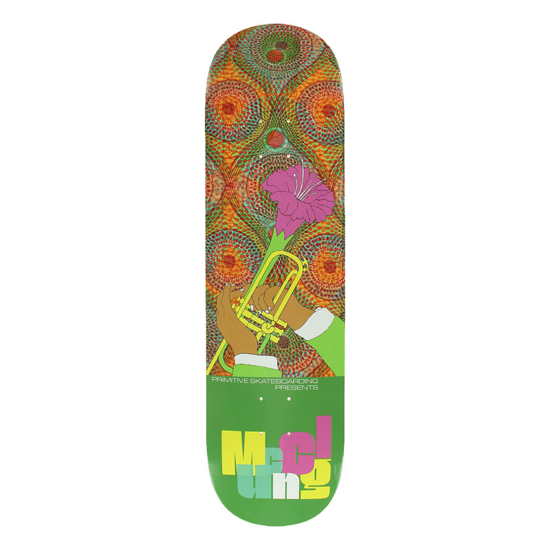 Primitive McClung Messenger Skateboard Deck 8.38