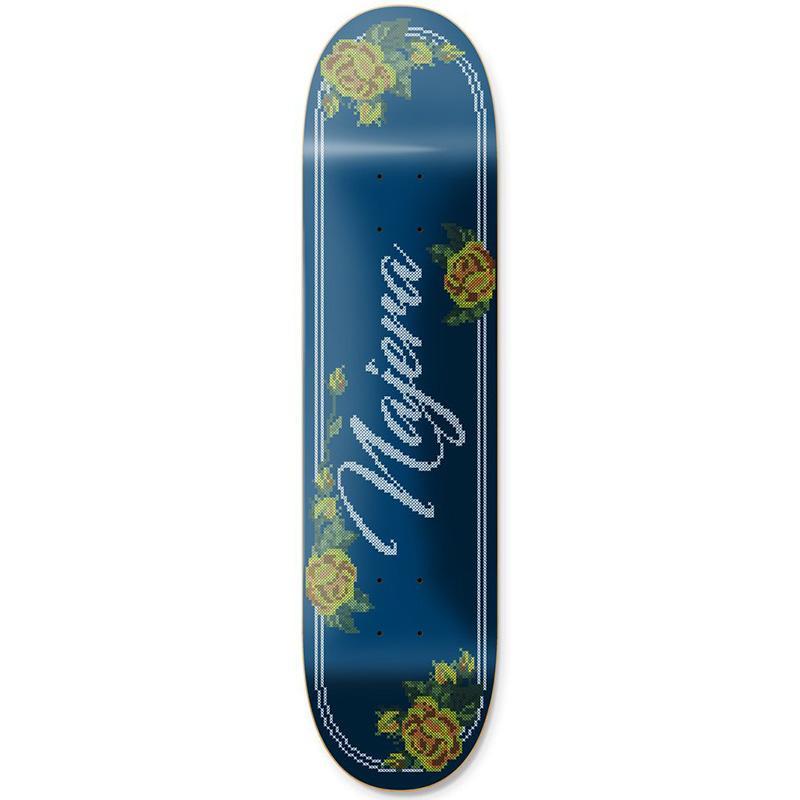 Primitive Najera Cross Stitch Skateboard Deck 8.0