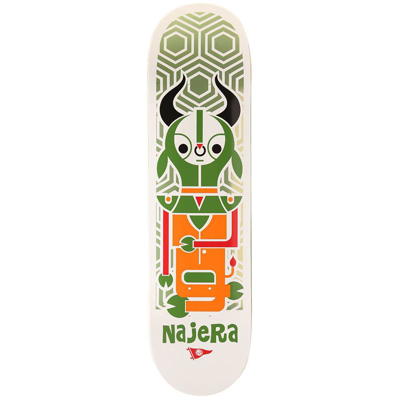 Primitive Najera Pendleton Zoo Skateboard Deck 8.25