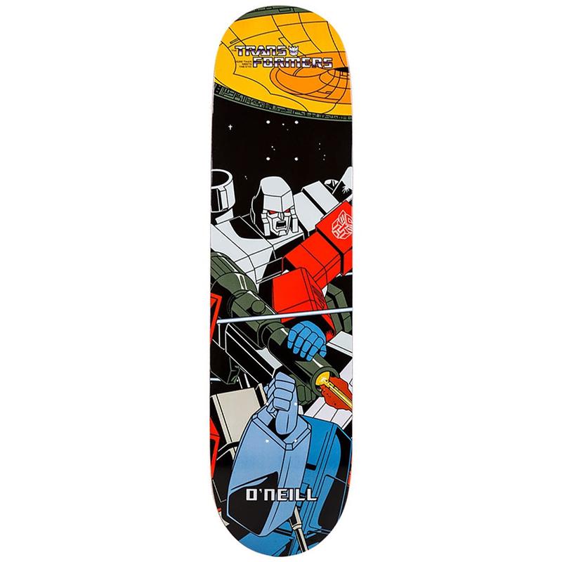 Primitive O'Neill Megatron Skateboard Deck 8.125