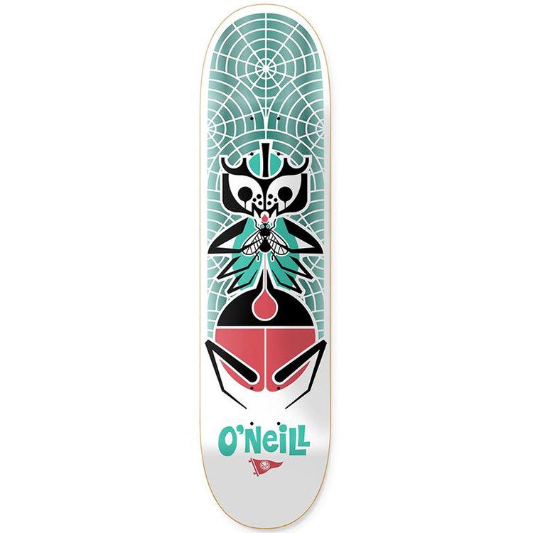 Primitive O'Neill Pendleton Zoo Skateboard Deck 8.0