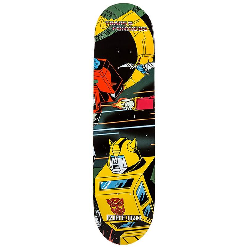Primitive Ribeiro Bumblebee Skateboard Deck 8.1