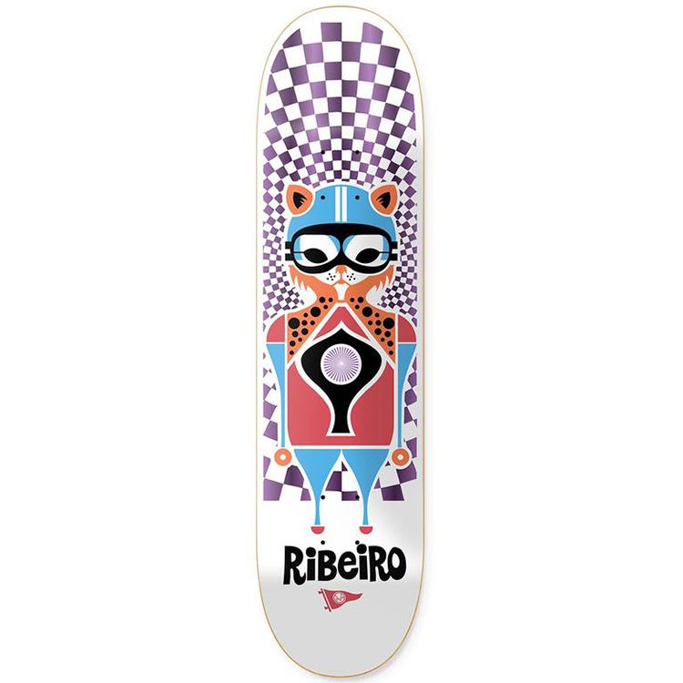 Primitive Ribeiro Pendleton Zoo Skateboard Deck 7.8