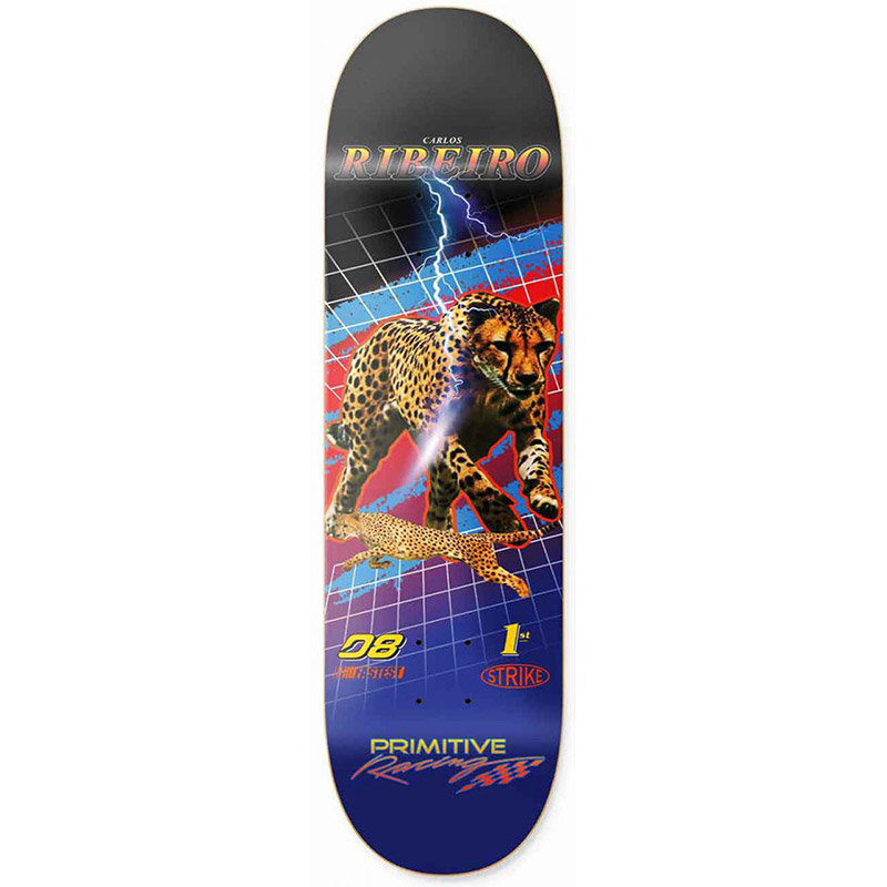 Primitive Ribeiro Speed Skateboard Deck 8.0