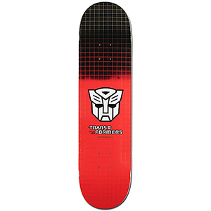 Primitive Rodriguez Auto Bots Grid Skateboard Deck 7.8