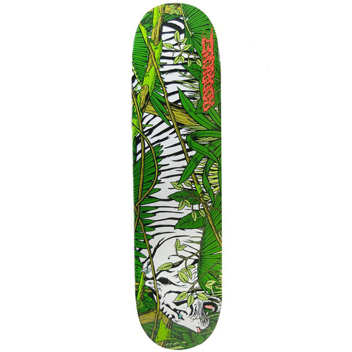 Primitive Rodriguez Jungle Cat Skateboard Deck 7.8