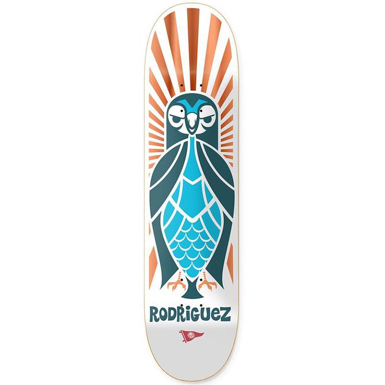 Primitive Rodriguez Pendleton Zoo Skateboard Deck 8.0
