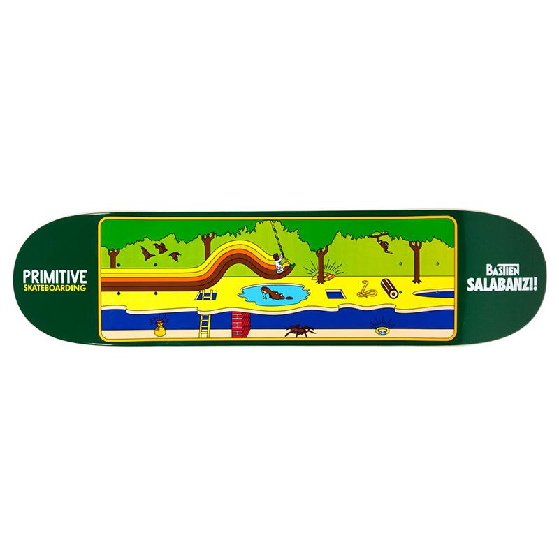 Primitive Salabanzi Quest Skateboard Deck 7.8