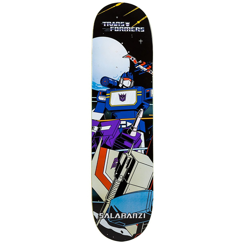 Primitive Salabanzi Soundwave Skateboard Deck 8.25