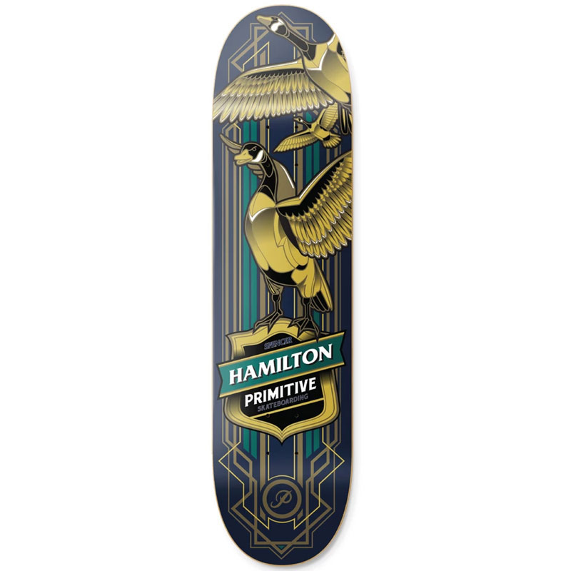 Primitive Spencer Hamilton Goose Skateboard Deck 8.38