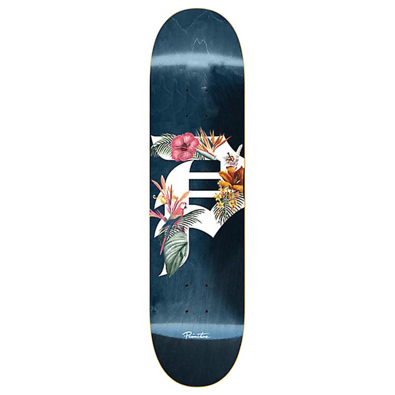 Primitive Team Dirt Y P Tropics Skateboard Deck Multi 8.5