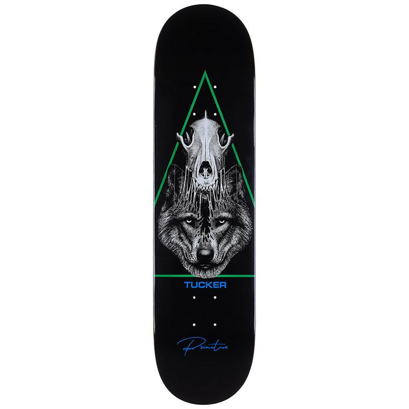 Primitive Tucker Hunter Deck Skateboard Deck 8.0