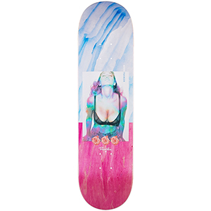 Primitive Tucker Ice Cold Skateboard Deck 8.25