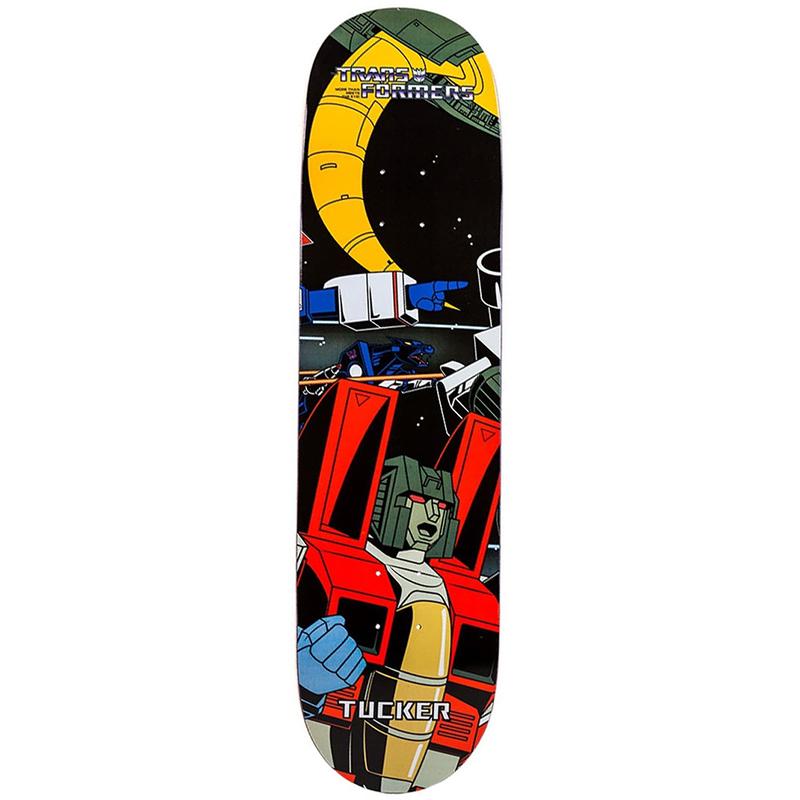 Primitive Tucker Starscream Skateboard Deck 8.125