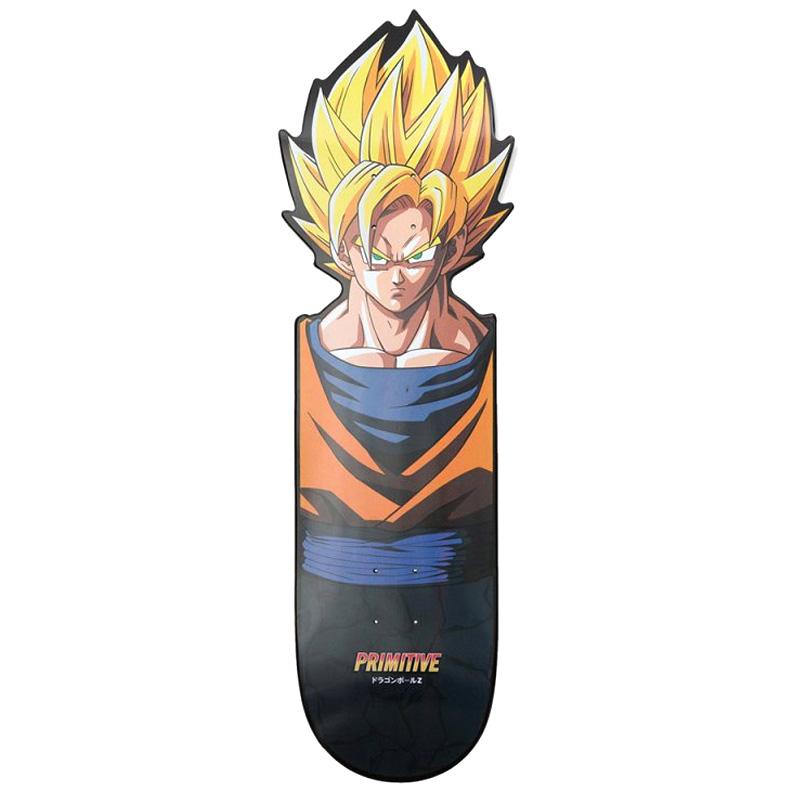 Primitive x DBZ Goku Team Cnc Cruiser Skateboard Deck 10.0