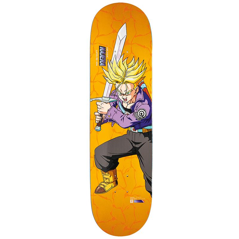 Primitive X DBZ Najera Ss Trunks Skateboard Deck Orange 8.125