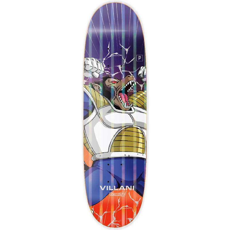 Primitive x DBZ Villani Great Ape Skateboard Deck Orange 9.125