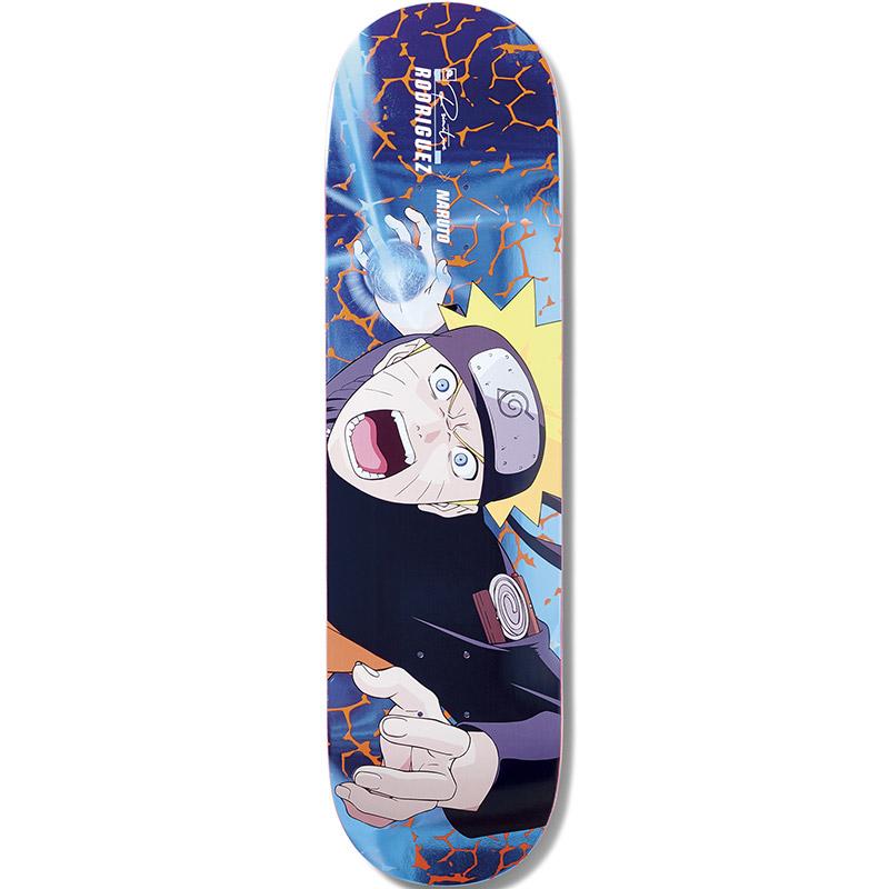 Primitive X Naruto Rodriguez Combat Skateboard Deck 8.38