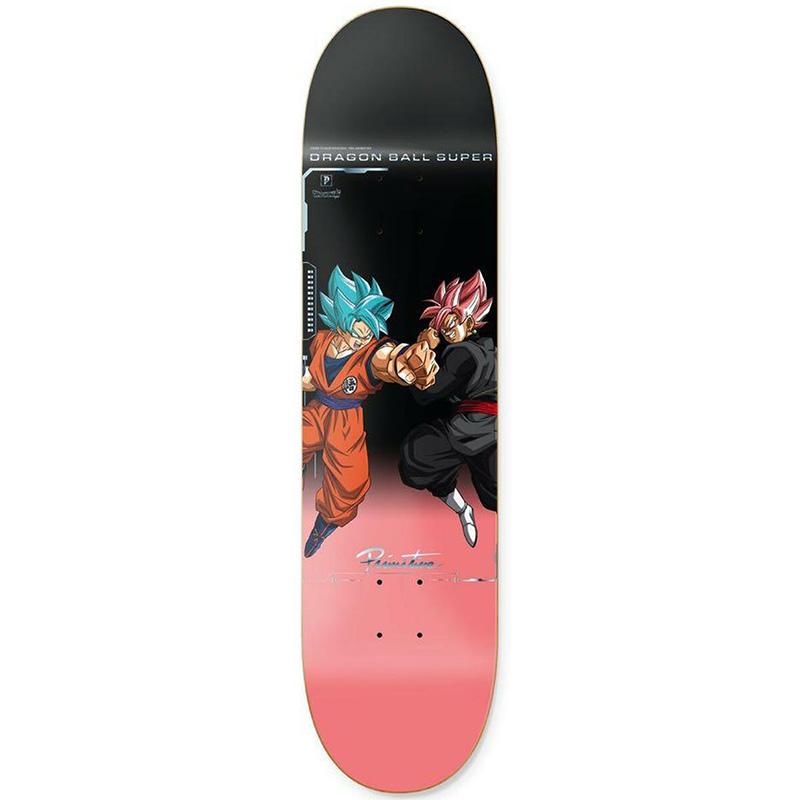 Primitive X Team Goku Versus Skateboard Deck Pink 8.0