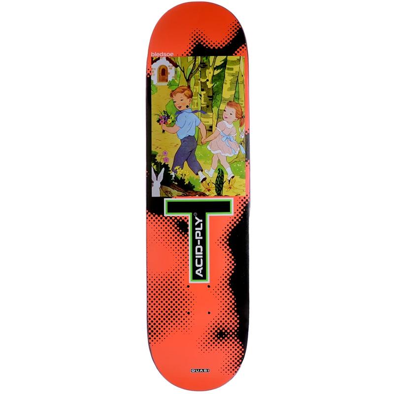 Quasi Bledsoe Moonwalk Skateboard Deck 8.375 X 32.25