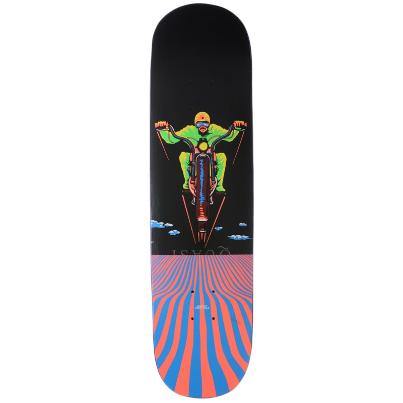 Quasi Crockett Dream Cycle Skateboard Deck  8.25 X 32.125