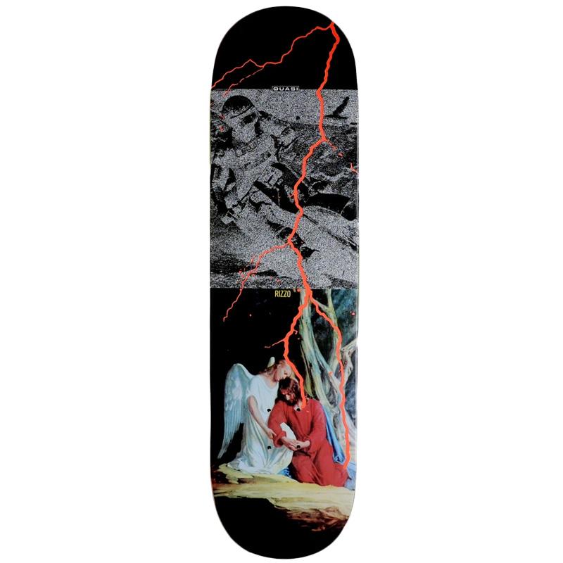 Quasi Rizzo Sabbath Skateboard Deck 8.5 X 32.125